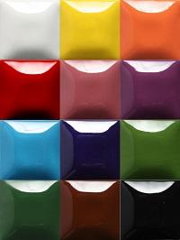 Набор 1 - SC16 Cotton Tail (белый), SC24 Dandelion (желтый)  SC75 Orange-A-Peel (оранжевый), SC74 Hot Tamale (темно-красный), SC18 Rosey Posey (темно-розовый), SC13 Grapel (фиолетовый), SC-31The Blues (васельковый цвет), SC-76 Cara-Bein Blue(кобальт), SC26 Green Thumb (зеленый), SC36 Irish Luck (темно-зеленый), SC14 Java Bean (темно-коричневый), SC15 Tuxedo (черный)